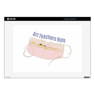 "Art Teachers Rule Skin For 15"" Laptop"