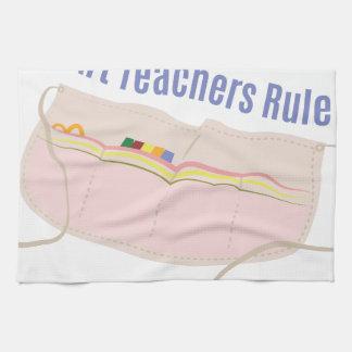 Art Teachers Rule Towel