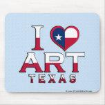 Art, Texas Mouse Pad