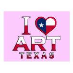Art, Texas Postcard