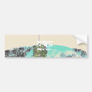 Art Text Eroxion Car Bumper Sticker