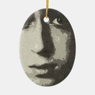 art- the boy christmas tree ornament