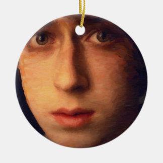 art - the boy ornament