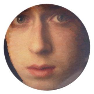 art - the boy plate