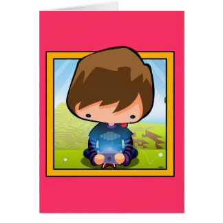 Art The Gamer Greeting Cards