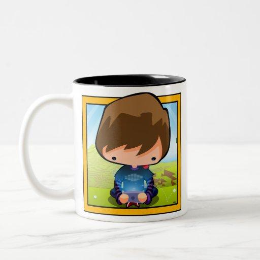 Art The Gamer Two-Tone Coffee Mug