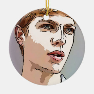 art - the male model christmas tree ornaments