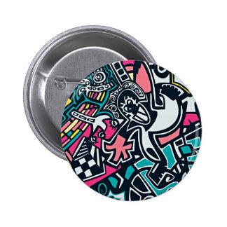 Art Themed 2 Inch Round Button