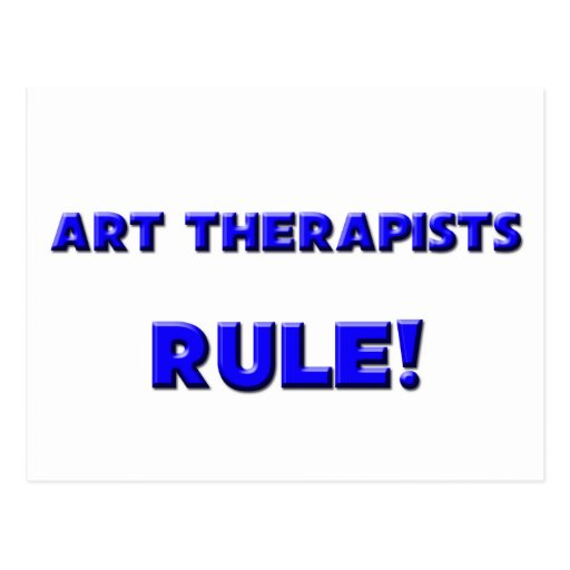 Art Therapists Rule! Post Card