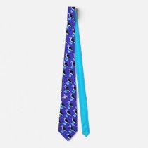 Art Tie: Galapagos birds Neck Tie