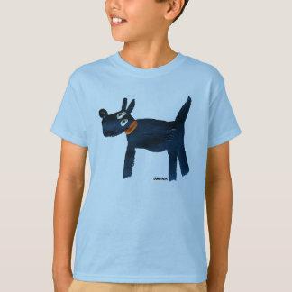 Art Top: Bella Scotty. Blue T-Shirt