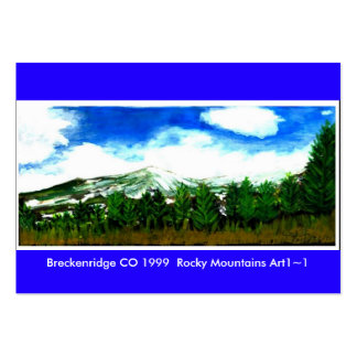 Art Trading Museum Business Cards Breckenridge CO3