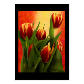Art Trading Museum Business Cards Tulips 2010