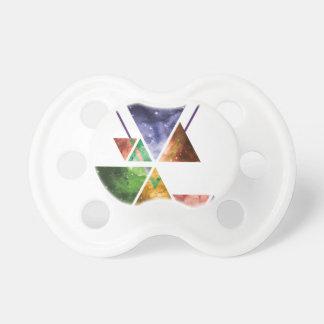 Art Triangle Galaxy Pacifier