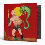 """Art Warrior Watercolor Painting 1.5"""" Binder"""