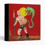"""Art Warrior Watercolor Painting 1"""" Binder"""
