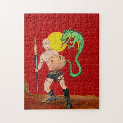 Art Warrior Watercolor Painting Puzzle