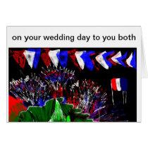 art wedding tea party design