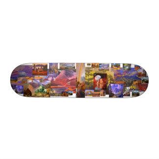 Art West & Beyond Skateboard