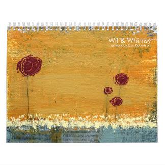 Art & Whimsy Calendar