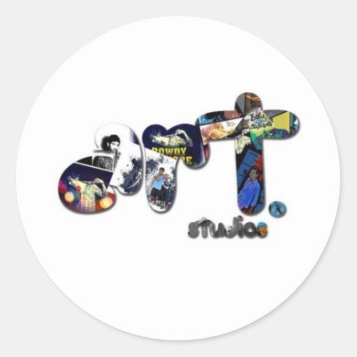 art with ARTstudios. Classic Round Sticker