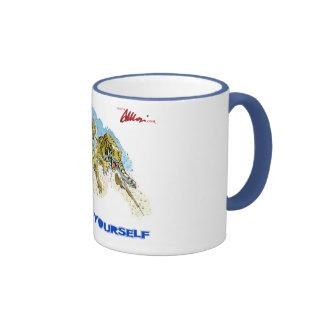 Art Yourself - Tigers in dreams Ringer Coffee Mug