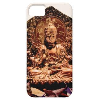 Art Zen golden Buddha iPhone SE/5/5s Case