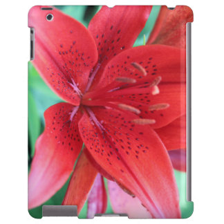 Artandra Red Imperial Lilly iPad Cover