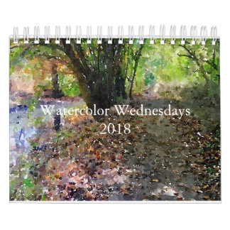 artanon's #WatercolorWednesday Calendar