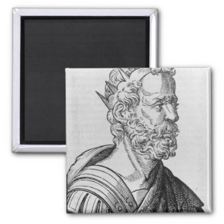 Artaxerxes II  King of Persia 2 Inch Square Magnet