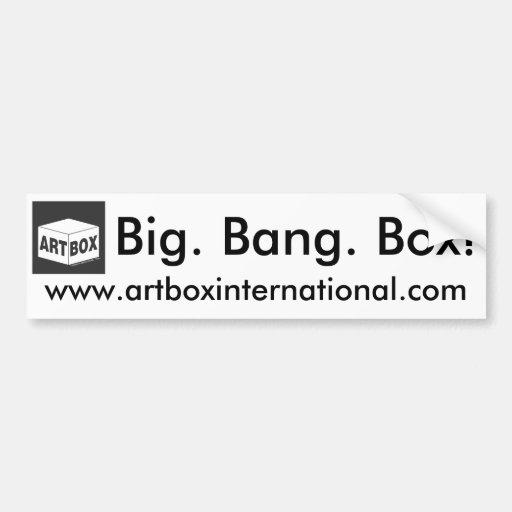 artbox_logo, www.artboxinternational.com, Big. ... Car Bumper Sticker