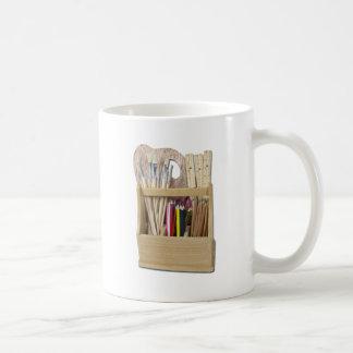 ArtBoxBrushesPencils051411 Coffee Mug