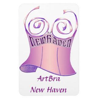 ArtBra New Haven Logo Rectangular Photo Magnet