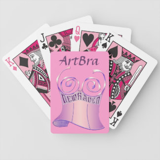 ArtBra New Haven Novelty Decks Bicycle Playing Cards