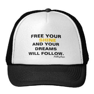 ArtBuyAngie™ Brandwear (Free Your Shine) Trucker Hat