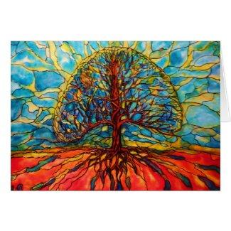 ArtByRae - Tree of Life Postcard card