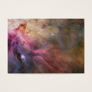 Artcard, Abstract Art Found in the Orion Nebula Business Card
