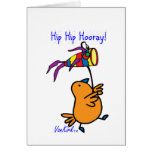 ArtChaCha Bird Card with Fish Kite