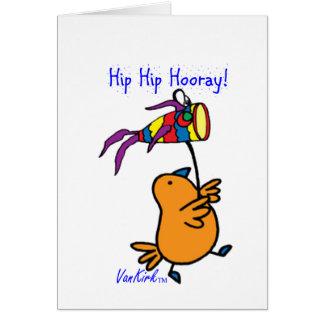 ArtChaCha Bird Card with Fish Kite