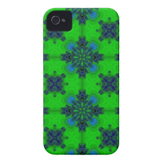 Artdeco in retrolook green and blue iPhone 4 cases