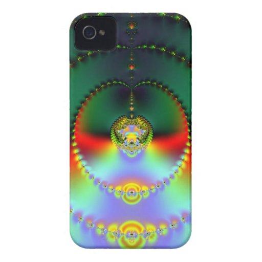 Arte 011 EML del fractal iPhone 4 Cobertura