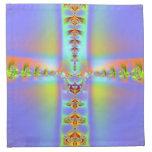 Arte 019 EML del fractal Servilleta Imprimida