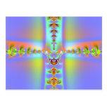 Arte 019 EML del fractal Tarjeta Postal