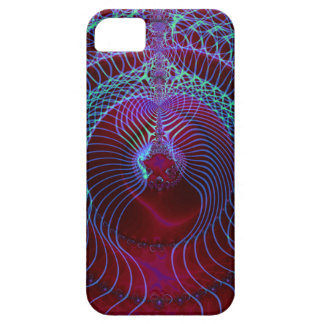 Arte 027 EML del fractal Funda Para iPhone 5 Barely There