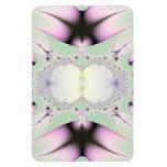 Arte 032 EML del fractal Imanes Rectangulares