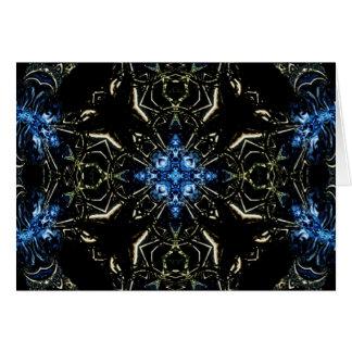 Arte 1192 del fractal tarjeta de felicitación