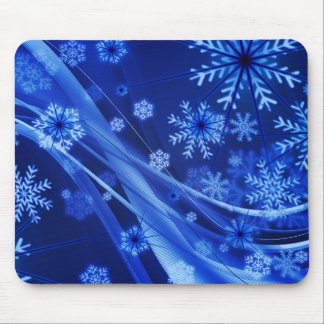 Arte 11 Mousepad del copo de nieve