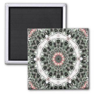 Arte 1276 del fractal imán cuadrado