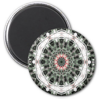 Arte 1276 del fractal imán redondo 5 cm