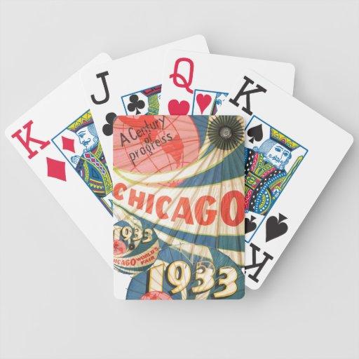 Arte 1933 de publicidad del vintage de la feria de barajas